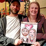Caricature Couple, Party Talent LLC