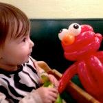 Baby with Balloon Oscar