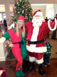 Santa with Elf