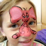 Mousie Nose Face Painting