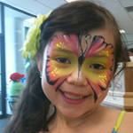 Face Painting - Pink-Yellow
