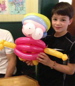 Custom balloon art